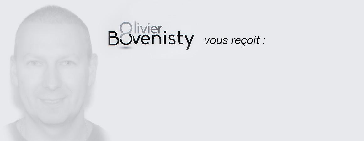 Olivier Bovenisty vous reçoit dans 3 cabinets
